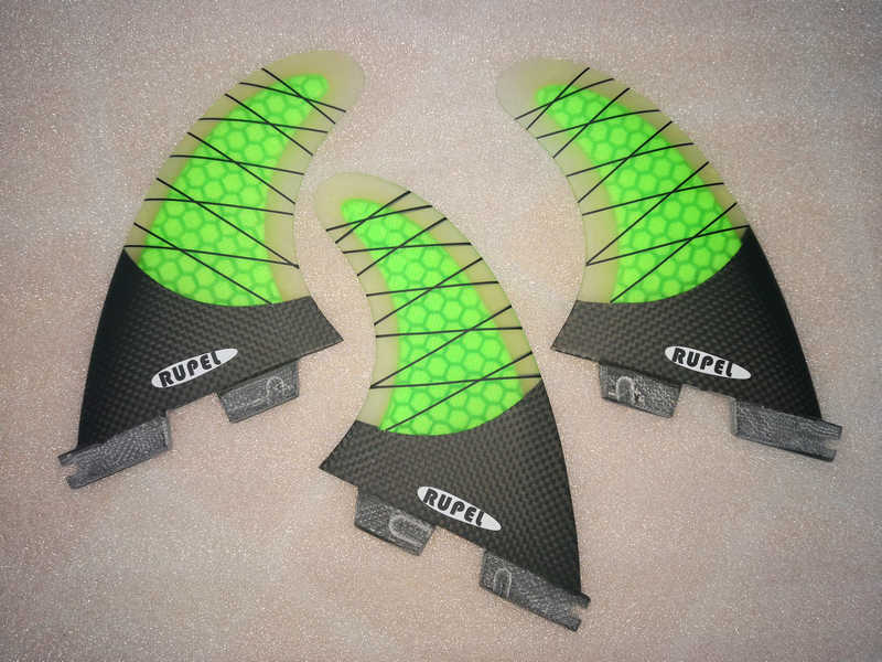 d95d59abaa HOT G5 FCS II I Surf fins Tri set Honeycomb half carbon FCS 2 1 surfing fin  for surfboard Thrusters set
