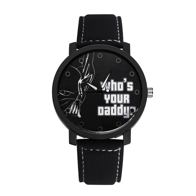 Star Wars Watch Men Watch 13 Style Black Leather Men's Watch Fashion Wrist watches Hour Male Clock relogio masculino
