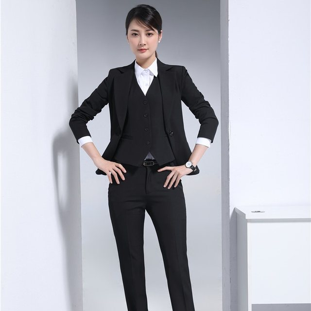 Online Shop Autumn Winter Formal Professional Uniform Design ...