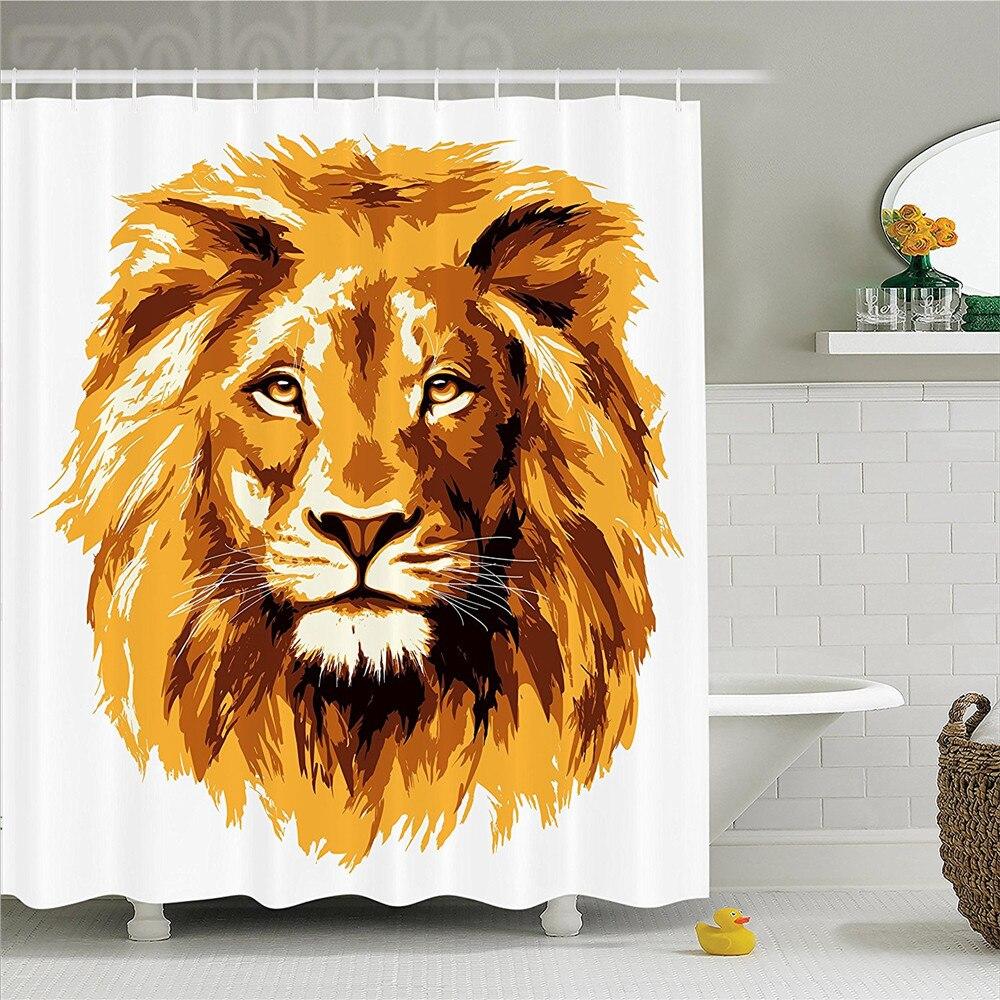 Safari Decor Shower Curtain