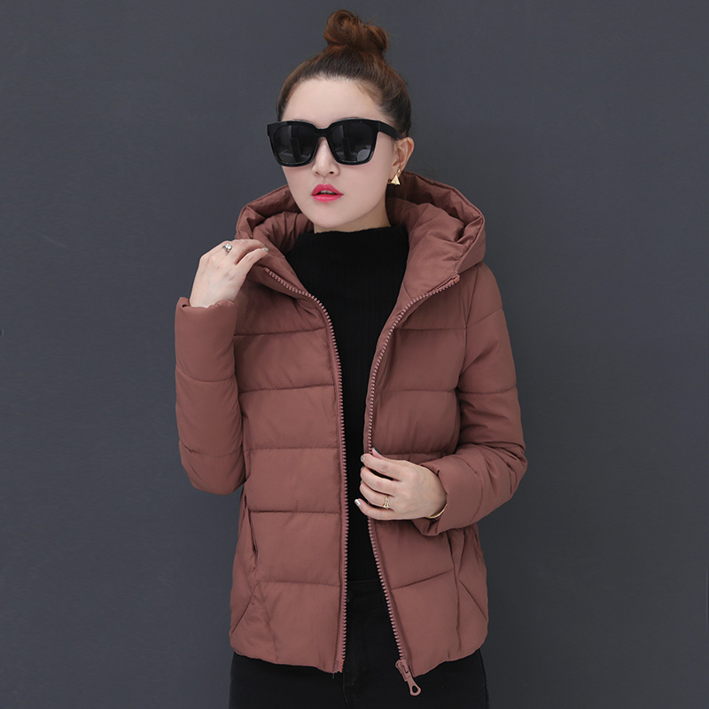 women 2018 white duck   down   jackets fashion winter slim thick warm tide   coats   wild parkas outerwear HS9177