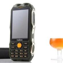 TKEXUN Q8 TV Телефон С Power Bank 8000 МАЧ Аналоговое ТВ Dual Sim-карта Старший Двойной Фонарик Большой Динамик 3.2 дюймовый Телефон