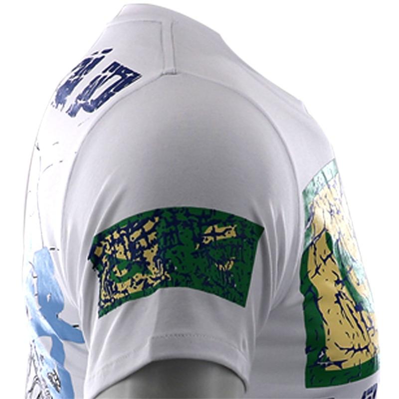 VSZAP Shogun T shirts Samurai Fitness MMA Men Short Sleeve T Shirt Casual Fighting Muay Thai Fightwear UFC Sanda Sporting in T Shirts from Men 39 s Clothing