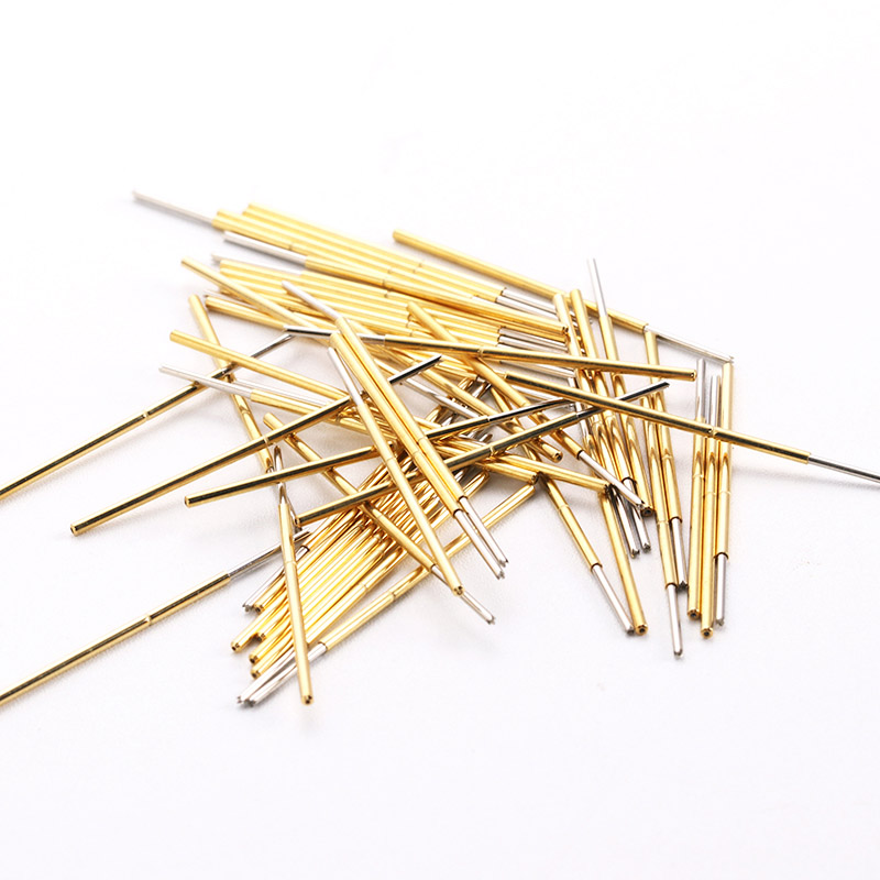 PL75-Q1 Straight Round Head Test Probe Length 33.35mm Needle 1.02mm Spring Thimble 100 Pieces / Pack Home New