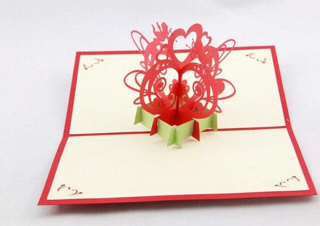 Cupidon Passe 3 D Amour Cadeau Cratif Cartes De Voeux Originale Carte Visite Papier Personnalis