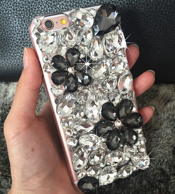Bling Rhinestone Crystal Diamond Back Cover Case Cover For Huawei Honor 3C Play - intl