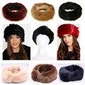 New Russian FOX  Faux Fake Fur Hat HeadBand Winter Earwarmer Hat