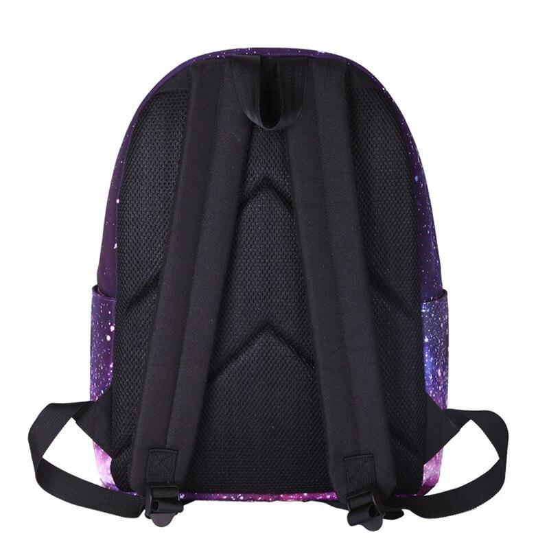 para meninas adolescentes moda estrela Pattern : Star Printing Backpack For Girls Boys