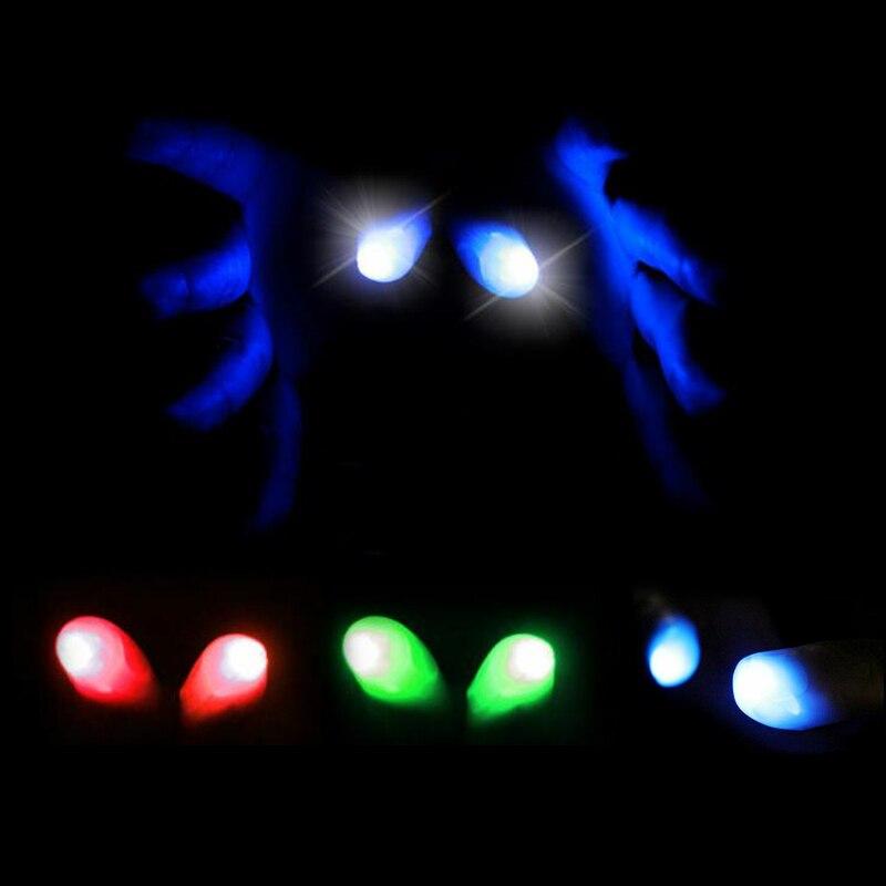 5 шт. светильник на Хэллоуин большие пальцы трюк, появляющийся близко украшение для вечеринки; Рождество вечерние декор Хэллоуин Вечеринка Реквизит