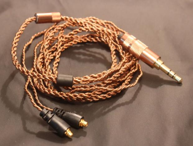 SE846 mmcx pin upgrade cable 6n single crystal copper wire