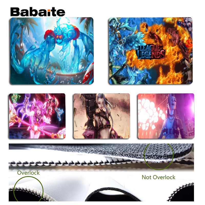 Babaite New Arrivals LOL Laptop Computer Mousepad Size for 180x220x2mm and 250x290x2mm Small Mousepad