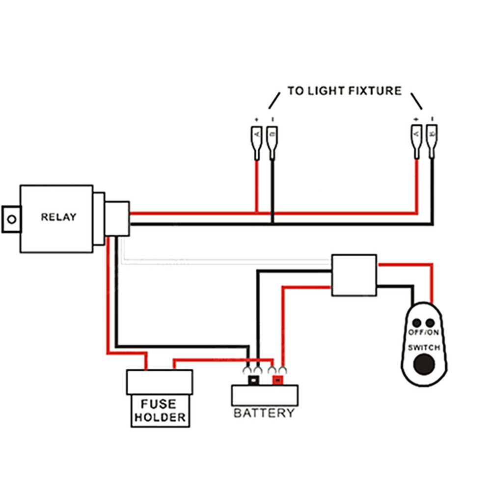 Wiring Diagram Led Working Lamp Radio Light Wire 3 12v Work Easy Diagrams U2022 Rh Art Isere Com Street Drive Dimmer