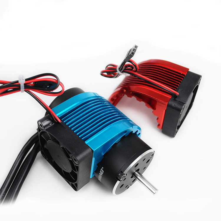 RC Alum. Alloy Motor Heatsink CNC 4010 40*40mm Fan For Brushless Motor 42mm Hobbywing Leopard Castle 4274 1515 812 T8 42684272
