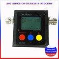 Доставка из Москвы! ANYSECU SW-102 100-520 МГц Цифровой VHF/UHF Мощность и КСВ-Метр Для портативной рацией SW102