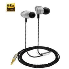 Buy online Ecouteurs P1 Hi-Res Audio Earphone Stereo Headphone DJ Headset Rock Bass Metal Rap Music HIfi Player Ear Buds BW-ES2 3.5mm Jack