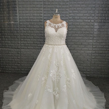 NOBLE BRIDE 2019 Court Train Beach Wedding Dresses