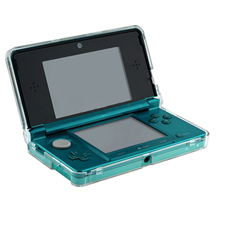 Free Shipping Crystal Clear Hard Skin Case Cover Protection for Nintendo 3DS for N3DS Console OD#S