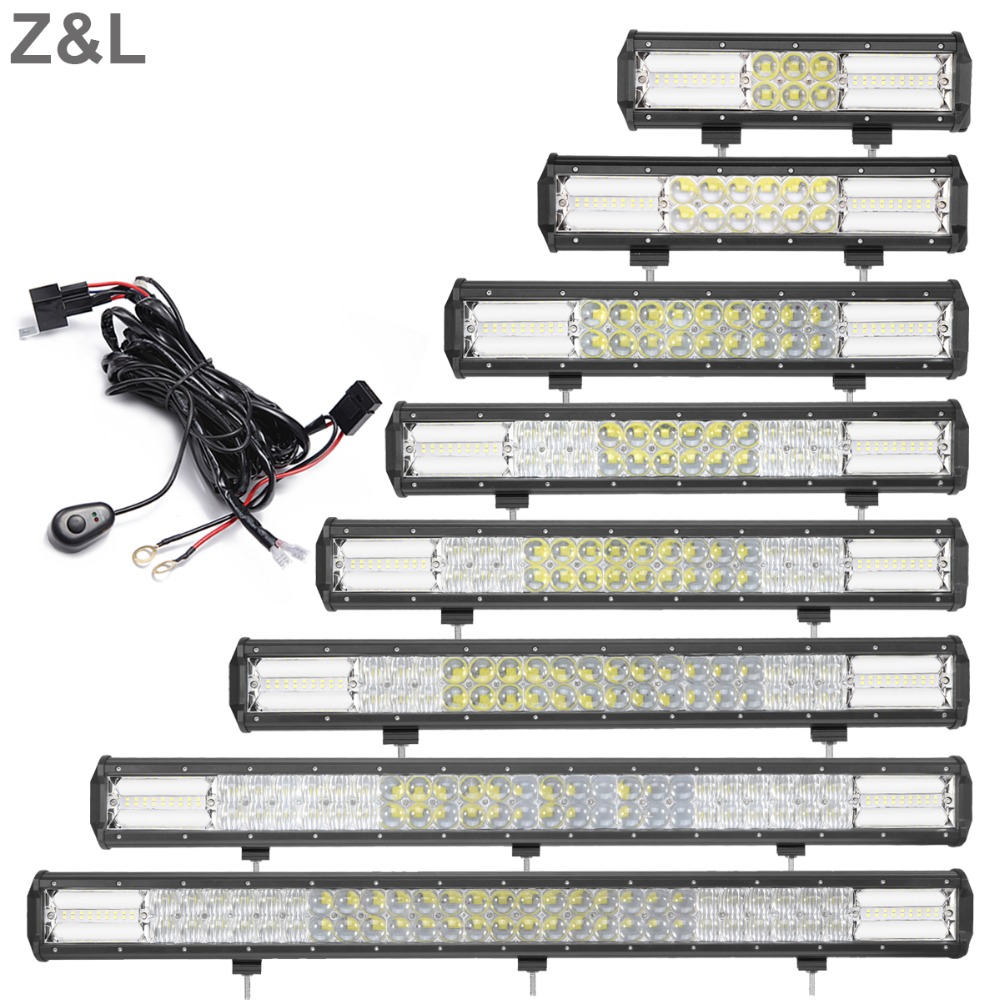 11 13 16 19 22 24 30 32 INCH 12V 24V LED LIGHT BAR OFFROAD CAR SUV TRUCK 4WD 4X4 ATV TRAILER AWD BOAT CAMPER PICKUP DRIVING LAMP offroad 13 16 21 24 29 32 inch led work light bar 12v 24v car truck trailer pickup tractor wagon combo 4x4 4wd atv driving lamp