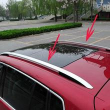 For Volkswagen Tiguan 2010 2011 2012 Aluminium Alloy Side Bars Rails Roof  Rack Roof Rail Car