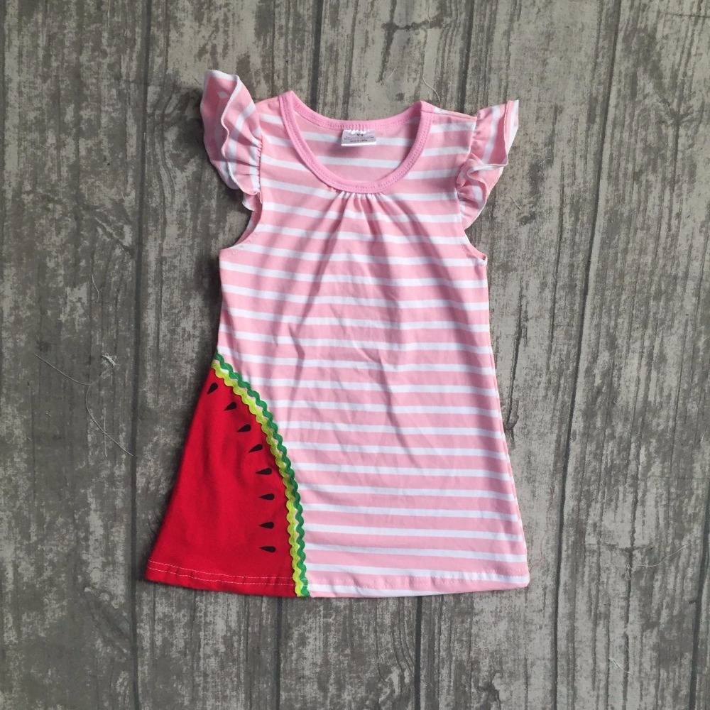 new arrival baby girls summer boutique dress girls kids watermelon dress children girls pink stripes dress summer party dress new arrival baby girls summer milksilk dress girls floral dress children soft boutique dress summer floral dress clothing