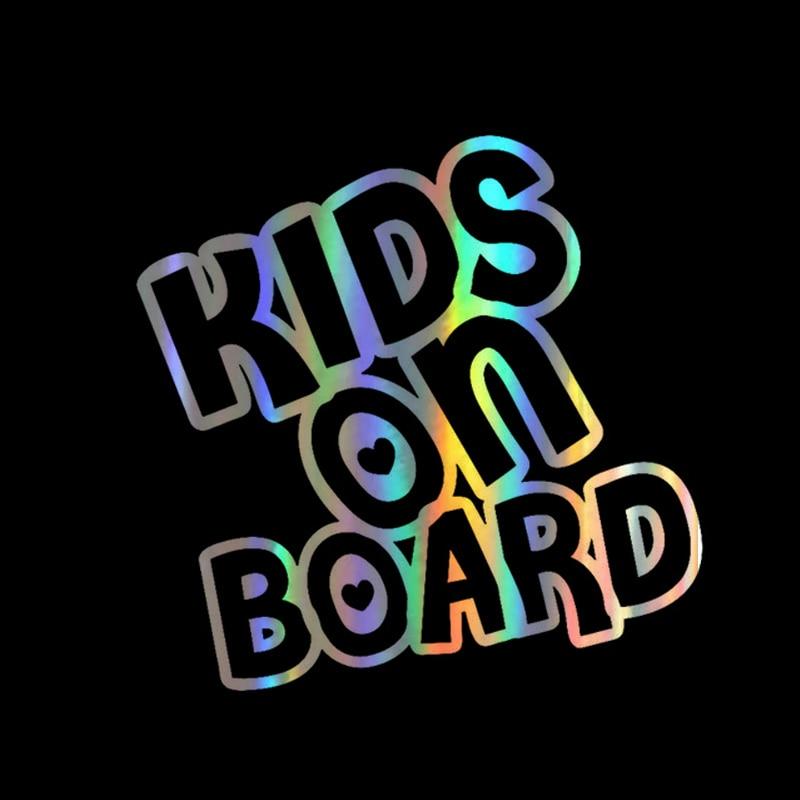 Забавные 15*14,6 см автомобиля Стикеры для малышей и детей постарше на борт автомобиля наклейка светоотражающие 3D Стикеры s на предупреждающий...