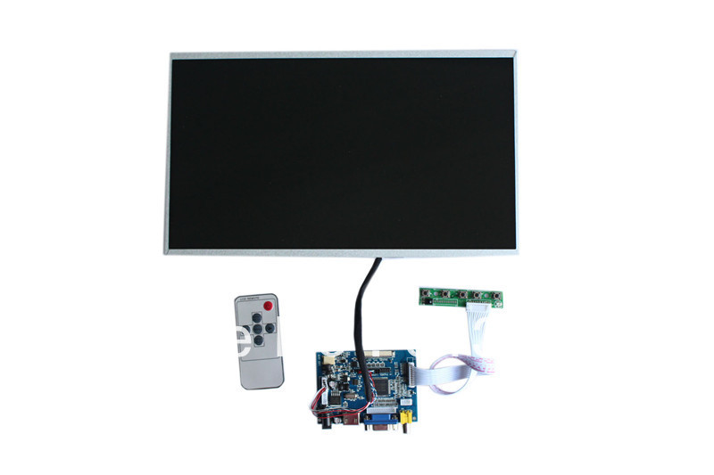 HDMI+VGA+2AV  LCD LVDS board +  LP140WH4-TLA1+LVDS cable +Remote control and receiver  +OSD keypad with cable cs3310 remote preamplifier board with vfd display 4 way input hifi preamp remote control digital volume control board