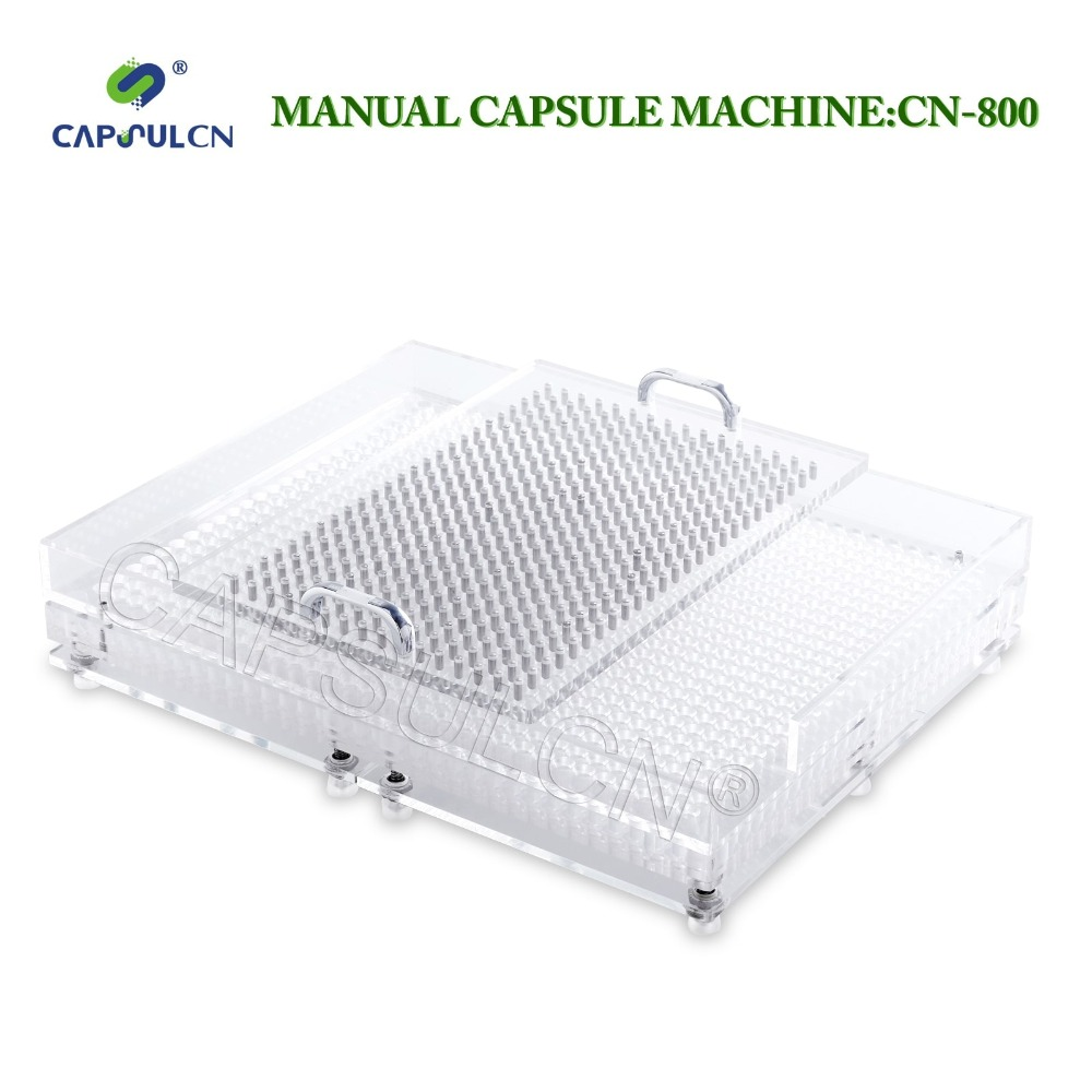 CN-800CL Best quality and efficiency Manual capsule filler Capsule filling machine 800 holes Size 000-4 Various size cn 800 manual capsule filling machine size 3 manual encapsulator capsule filler machine