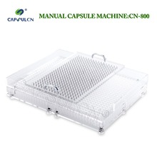 CN-800CL Best quality and efficiency Manual capsule filler Capsule filling machine 800 holes Size 000-4 Various size цена и фото