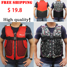 Professional Swimwear And Swimming fishing Life Jacket Water Sport Survival Dedicated adult or child camouflage Life Vest