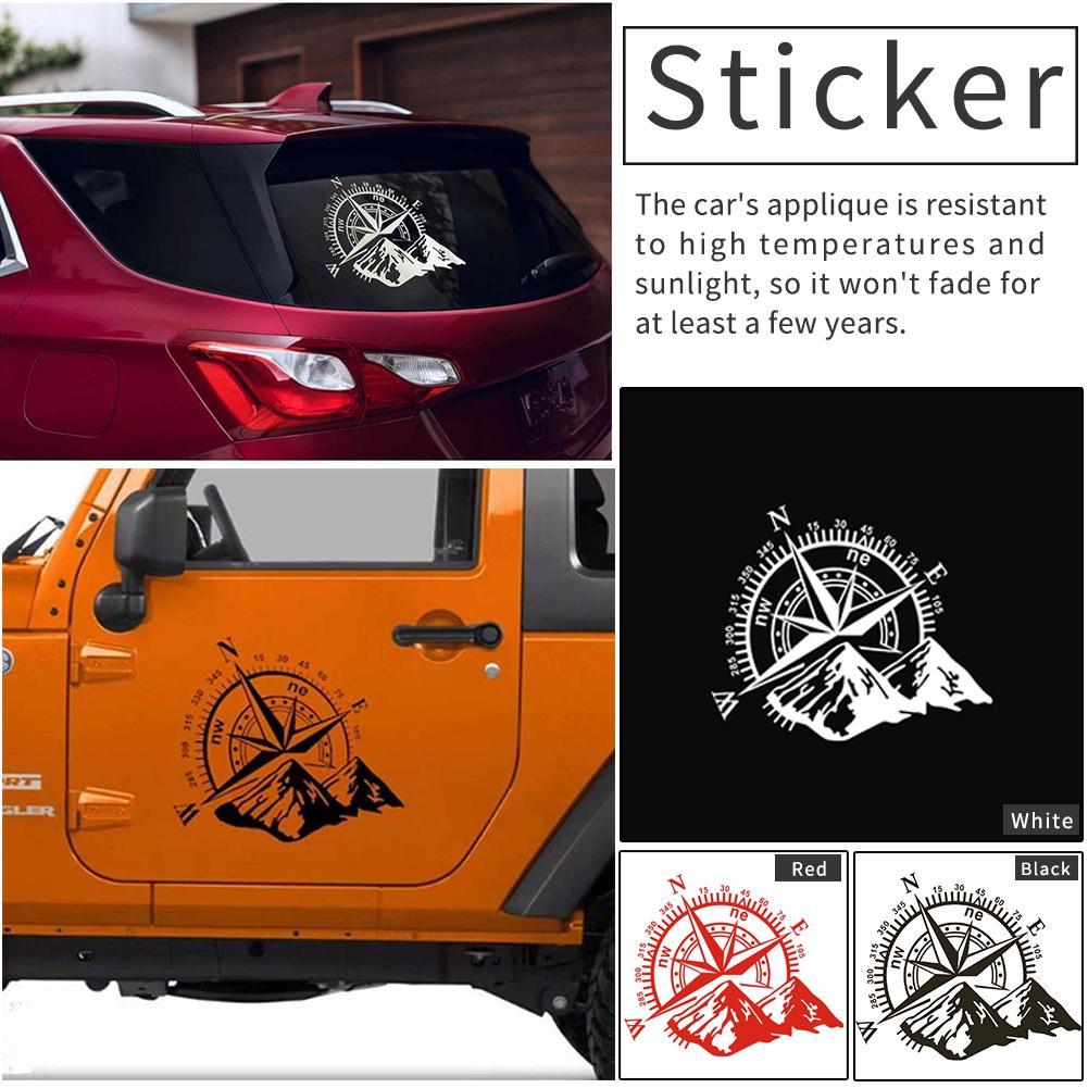 1 шт., светоотражающая виниловая наклейка на автомобиль