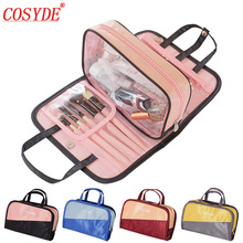Classic Travel Cosmetic Bag Waterproof Wash bag Beauty Storage Makeup Organizer Necessary Toiletry Pouch Accessories Supplies все цены