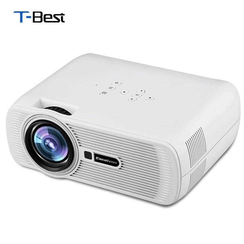 Mini Portable Lcd Multimedia Led Projector Full Hd 1080p: Excelvan UC80 EHD01 Mini Portable Multimedia LCD LED