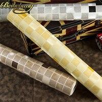 Beibehang PVC 모자이크 벽지 롤 욕실 벽 종이 방수