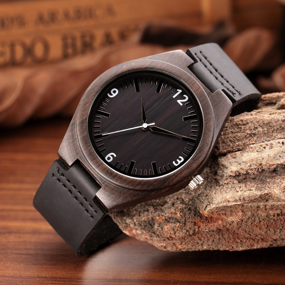 WEISIKAI Fashion Wooden Design Mens Womens Watches Casual Simple Leather Quartz Watch Scale Black Dial Wood Luxury Wristwatches (8)