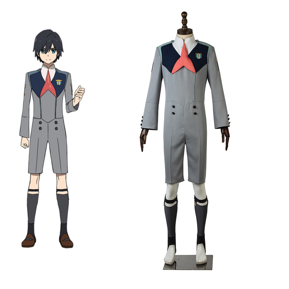 Cosplaydiy Custom Made Anime DARLING in the FRANXX Hiro Costume Costume CODE 016 Boys Girls School Uniform Suit Costume L320