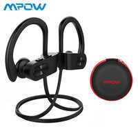 Mpow Flame Bluetooth Sport Earphone Headphones Waterproof IPX7 Wireless Earbuds 7-9 Hours Playback Noise Cancelling Headsets