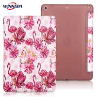 For Ipad 9 7 2017 Case PU Leather Protective Smart Case Stand Shell Soft Cover Coque