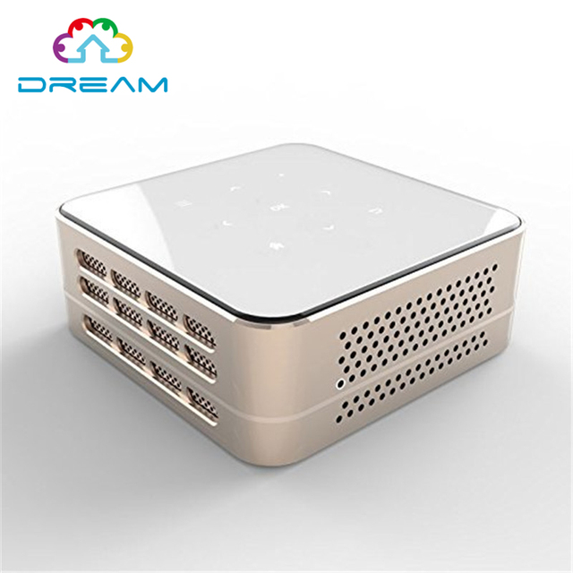 Mini Pocket P96  Projector Smart HD LED LCD 3D Mini Android 4.4 Portable Pocket Multi Use Wifi DLP Projector Micro DLP Protable