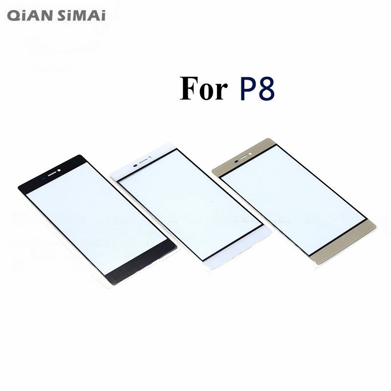 QiAN SiMAi For Huawei P8 / P8 Max Phone New Front Outer Glass Touch Screen (No Digitizer) Lens Repair 1PCS