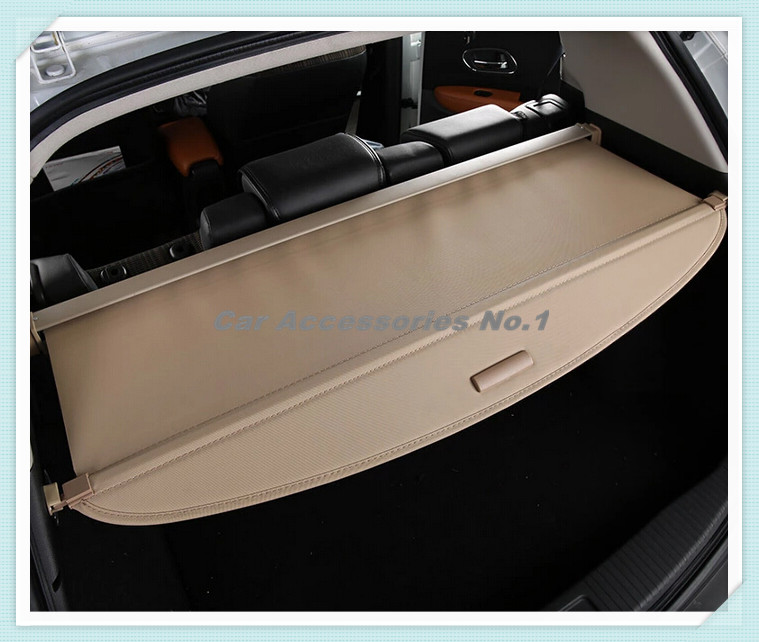 Car Rear Trunk Security Shield Cargo Cover trunk shade security cover for 14-17 Honda VEZEL 2014 2015 2016 2017 Free Shipping car rear trunk security shield shade cargo cover for honda fit jazz 2004 2005 2006 2007 black beige