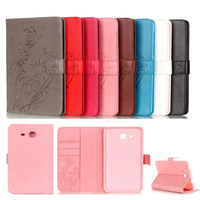 New 8 color butterfly pu Leather Case For Samsung Galaxy Tab A 7.0 T280 Flip Book Stand Cover for Galaxy Tab A 7.0 SM-T280 T285