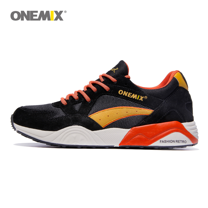 ONEMIX ретро кроссовки мужские высококачественные дышащие уличные туфли для бега трусцой Размер 39–45 Бесплатная доставка 1122 ...