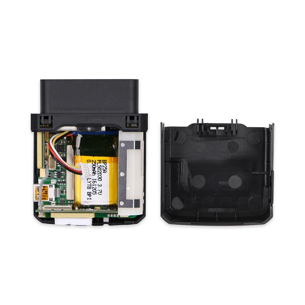 Dispositif de suivi du véhicule OBDII GV500VC Queclink GPS localisateur de suivi de voiture lecteur OBD interne tension u blox interne 8V à 32V DC - 4