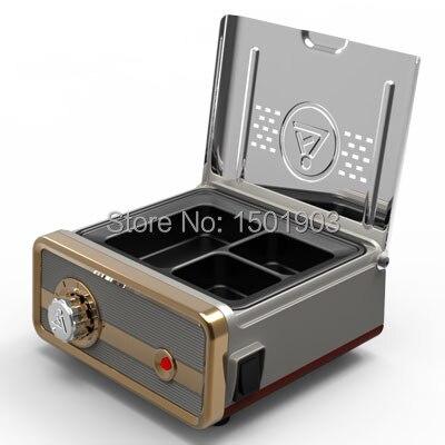 NEW Dental lab equipment wax pot heater 3 Pots Melting Wax Machine