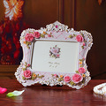 Europe and the United States rural style picture frames, 6 inch frame wholesale flower adornment resin -