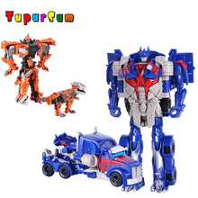 Transformation Robot Car Toys Kid Classic Action Toy Figures Mini Cars Plastic Deformation Best Gift For Education Children transformation plastic robot cars action figure toy transformation kids classic robot cars toys christmas gifts for children