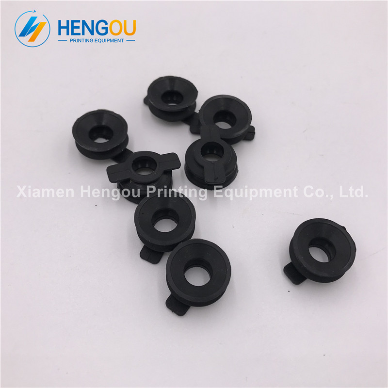 100 Pieces Free Shipping Offset Rubber Sucker For Gto, Offset Printing Machinery Parts 42.016.073