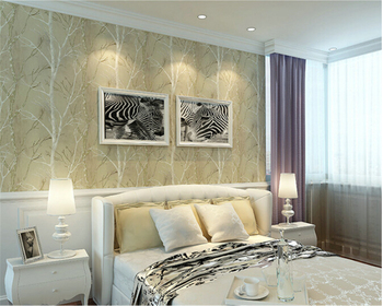 beibehang papel de parede American country 3d wallpaper Retro Blue Branch living room TV background wall paper bedroom nostalgia