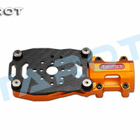 Tarot RC 25mm extended motor suspension seat black TL96039 orange TL96038 for 25mm carbon tube DIY multi axis drone aircraft
