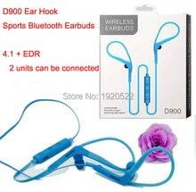 D900 Ear Hook Wireless Bluetooth Sports Earbuds Bluetooth 4.1 + EDR Earphones for Smart Phones iPhone Samsung Xiaomi Huawei